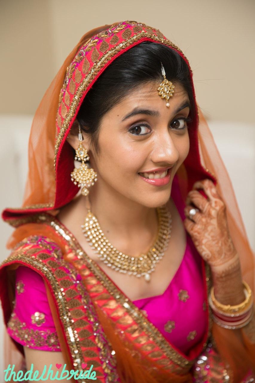 Wedding Makeup Close Up An Indian Wedding Blog