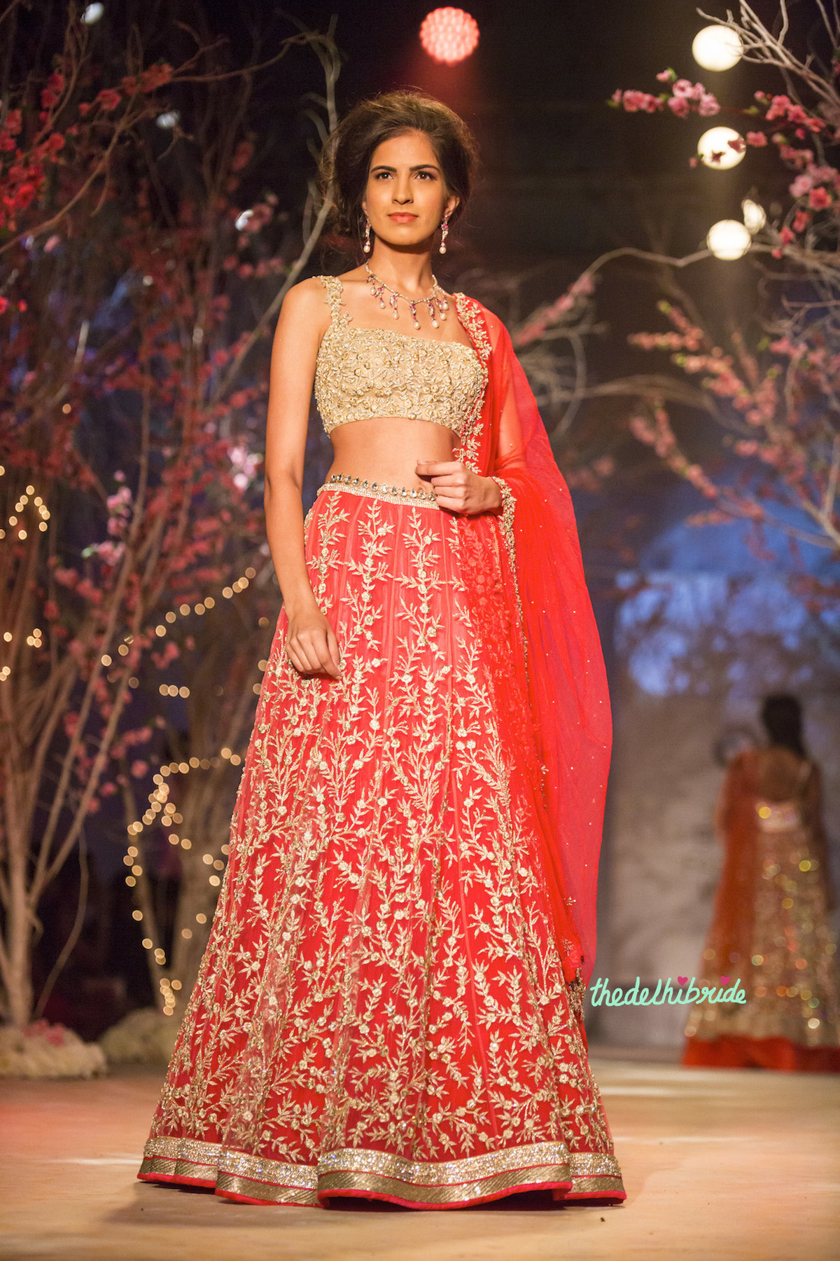 Jyotsna Tiwari At India Bridal Fashion Week 2014 An