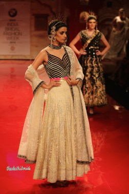 The bottom half of the anarkali was really pretty
