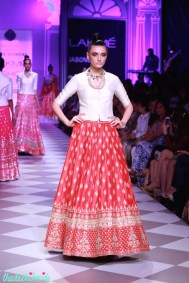 The Best of Anita Dongre Lakme Fashion Week 2014 red lehenga