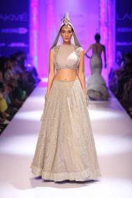 Shantanu & Nikhil light grey lehenga choli