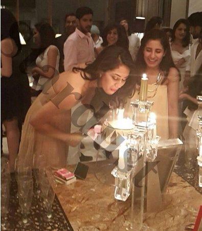 Mira Rajput at her bridal shower
