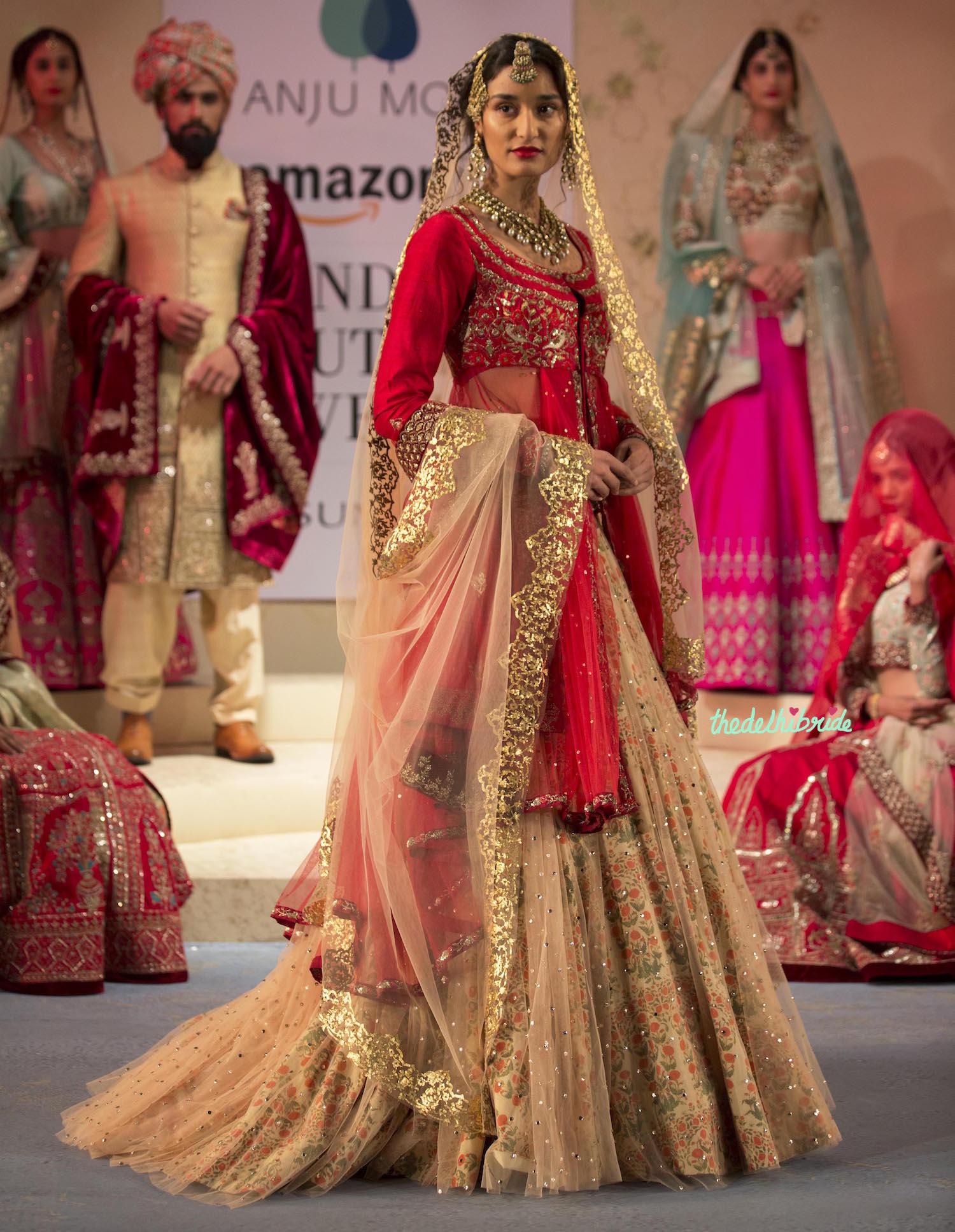 Anju Modi At Amazon India Couture Week 2015 An Indian