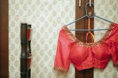 Wedding - Red blouse - Anasuya Wedding Wardrobe