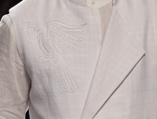 Menswear - Embroidery Details 3 | Anita Dongre Love Notes | Lakme Fashion Week 2016