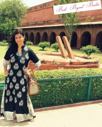 What I wore to visit Taj Mahal - Bride Beyond Borders