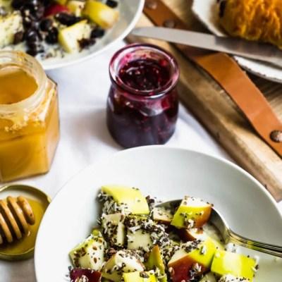 Warm Apple N'Oatmeal – Vegan and Gluten Free