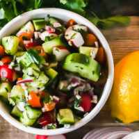 Fattoush Salad - Tangy and Crunchy Goodness in a Bowl