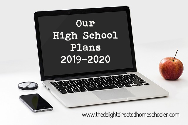 Our High School Plans 2019-2020