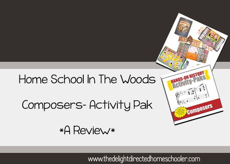 Homeschool In The Woods Composers Activity Pak- A Review