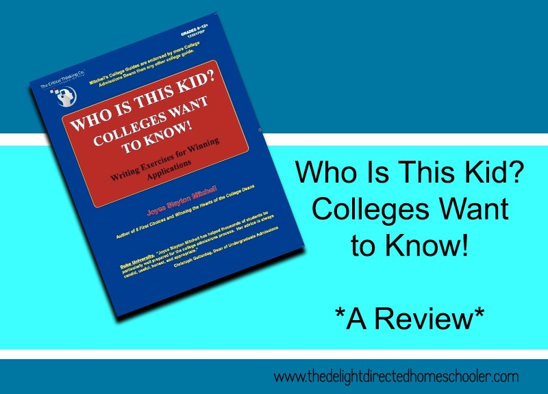 Who Is This Kid? Colleges Want to Know! A Review