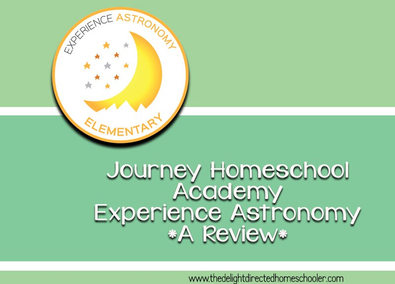 Journey Homeschool Academy Experience Astronomy- A Review