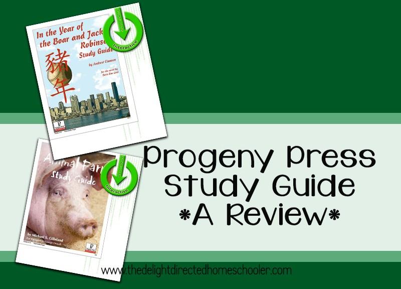 Progeny Press Study Guide Reviews