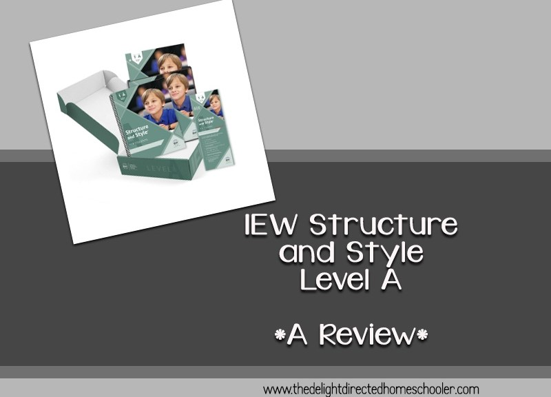 IEW Structure and Style Level A- A Review