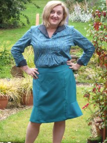 The 'rescued' skirt- still drowning