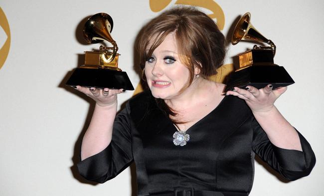 Adele got some Grammys too.