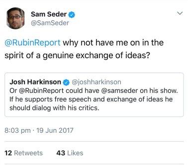 Sam Seder offer.