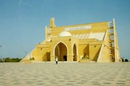 the mosque along the beach