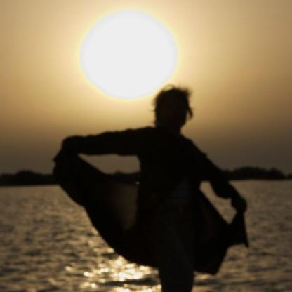 my friend's silhouette