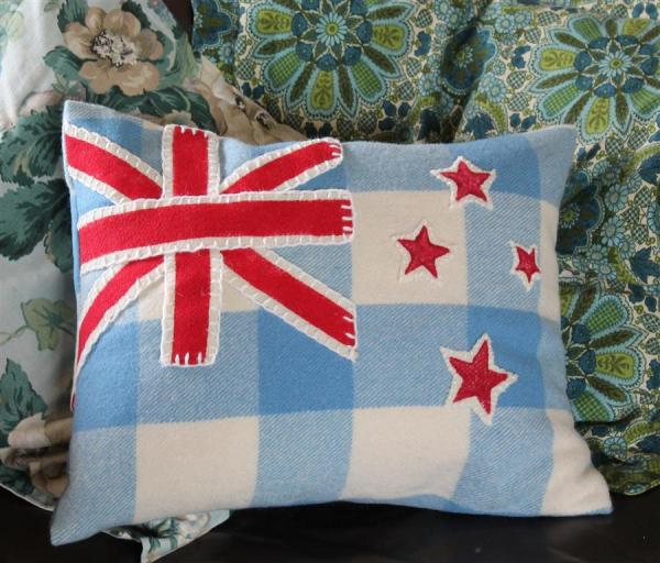 Coulter & Coulter Flag Cushion