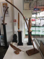 Tucker Art - Wooden lamp art