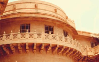 Palace Architecture - Umaid Bhawan