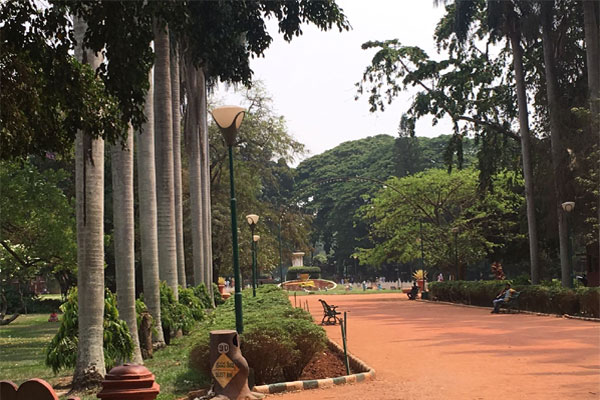 Entrance at the Lal Bagh