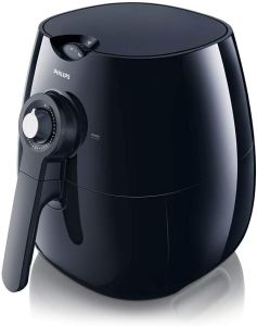 Philips Starfish Technology Airfryer with Cookbook, Black - 1.8lb2.75qt- HD922028