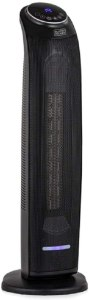 Black + Decker BXSH44005GB Ceramic Tower Fan Heater