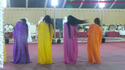The hair dance