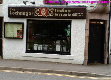 Curry shop, Scottish style!