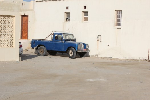 Masairah - home to over 300 aging landrover defenders