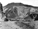 The narrow gauge Death Valley Railroad, company camp at Ryan, California - Courtesy National Park Service, Death Valley National Park