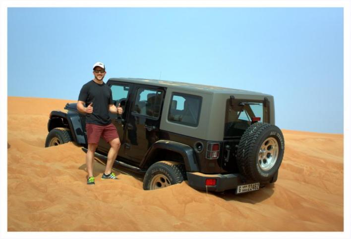 Wrangler Jeep for Off Roading in Dubai