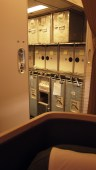 The galley, taken from 19A