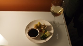 Cathay Pacific's The Wing food