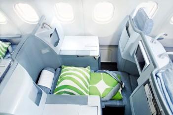 Finnair business A330 04 Low