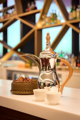 Tradtional welcome_Arabic coffee and dates