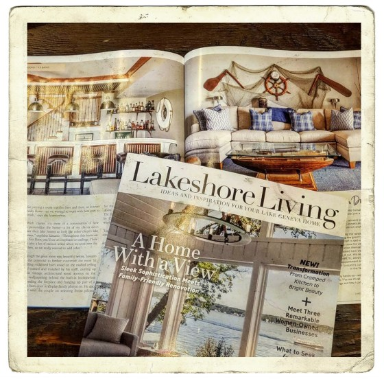 lakeshore living postcard