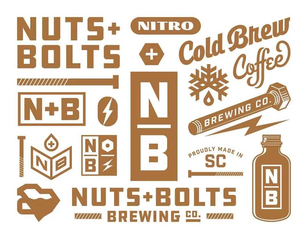 Nuts and Bolts Identity Design Sheet by Design Cypher