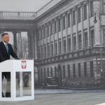Prezydent przekazał projekt ustawy dotyczący odbudowy Pałacu Saskiego