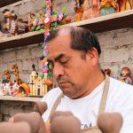 """Juan Nolasco Chavez/ """"Llegué a Lurín con cuatro palos, esteras y un techo de plástico"""", recuerda."""