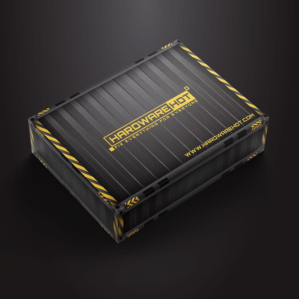 กล่องผลิตภัณฑ์ HARDWARE-HOT