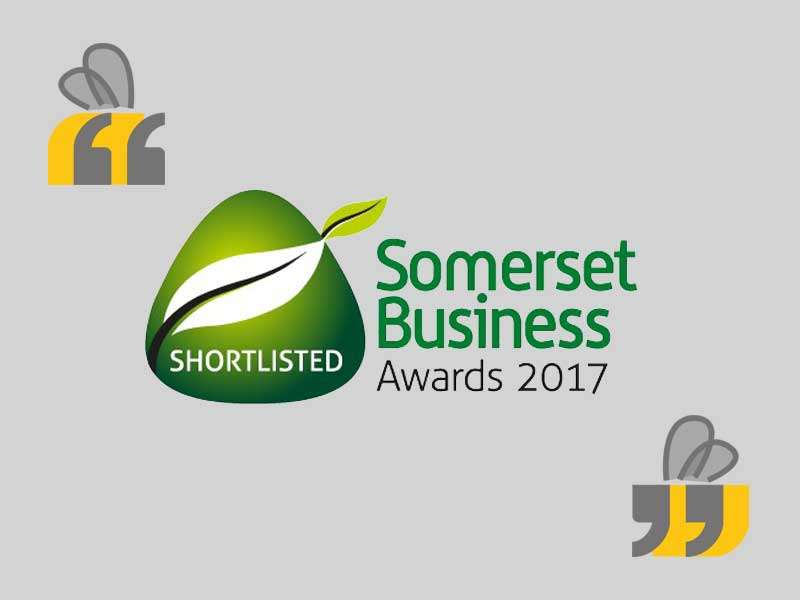 The Design Hive shortlisted for the Somerset Business Awards 2017