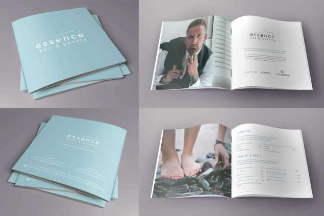 Essence Hair Beauty Brochure Design Somerset