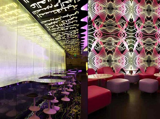 The Switch Restaurant Interiors By Karim Rashid