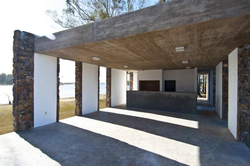 Outdoor Food Court In Centenario By Jaf Architecture Design