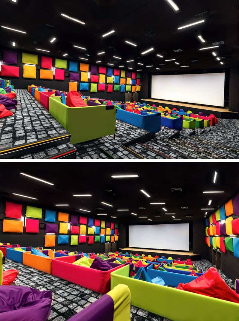 Fun Colorful Cinema In Slovakia
