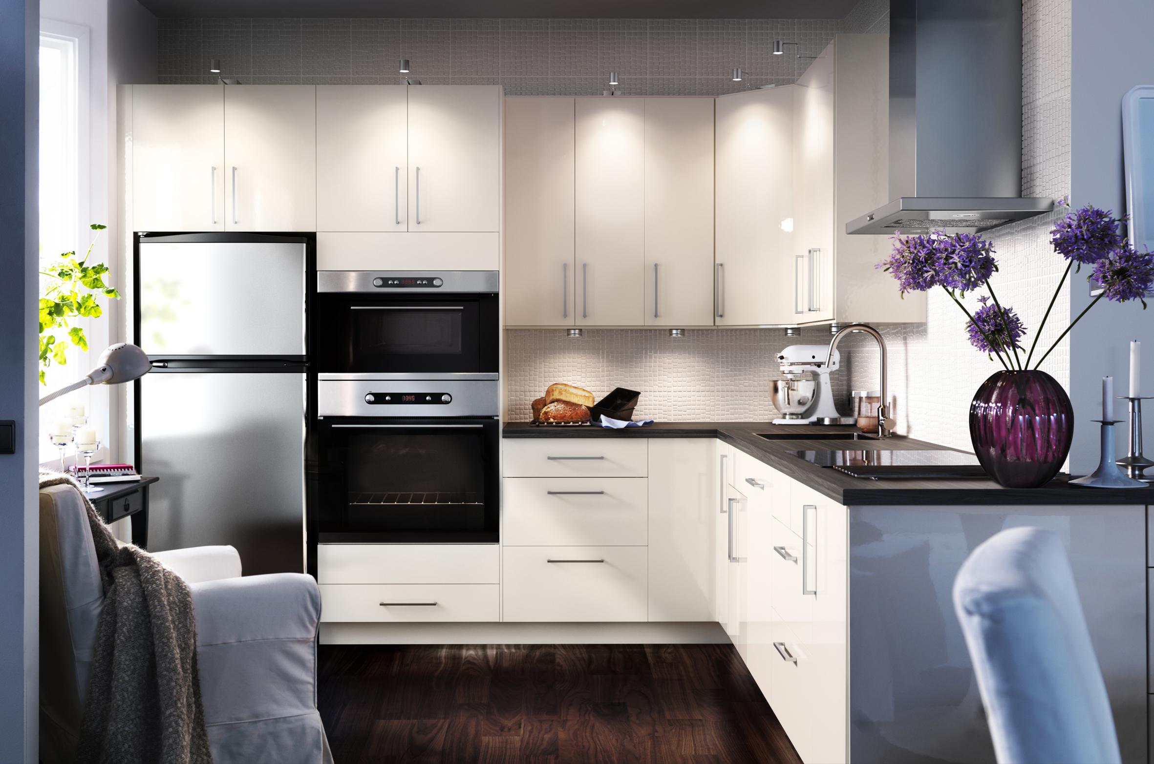 Ikea Kitchen White Home Design Scrappy