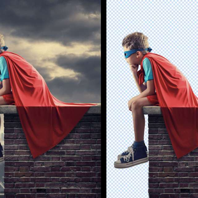 Retouching Examples | Background Removal | The Design Jedi
